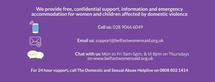 Belfast & Lisburn Women's Aid contact info