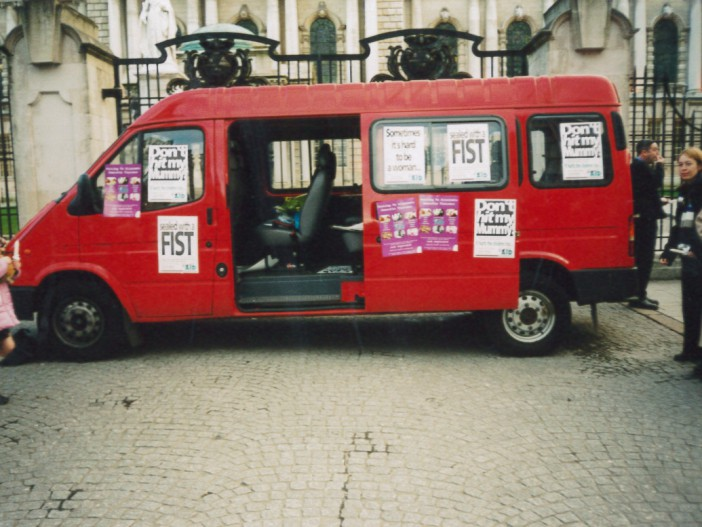 Womens Aid Campaign Bus